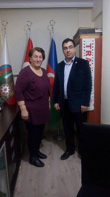 Eskişehirli Ülkücü Kadınlardan Azerbaycanlılar Derneği'ne Ziyaret