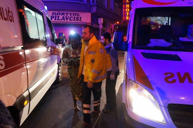 Fatih'te yangın: 5'i ağır, 10 yaralı