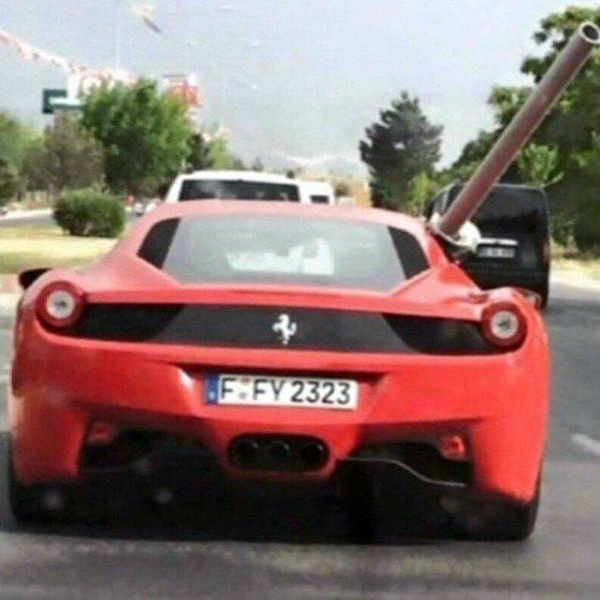 Babaya Vefa Ferrari İle Boru Taşıttı, Memlekete Vefa Ticarete Yönlendirdi