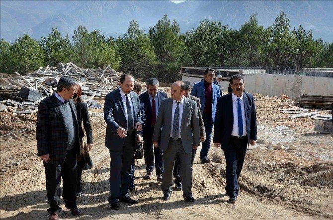 Rektör Alkan'dan Amasya Üniversitesi'ne Ziyaret