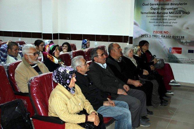 Kapadokya Özel Eğitim İş Uygulama Okulundan Erasmus Projesi
