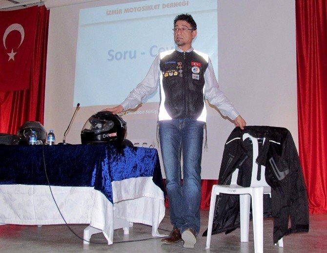 Çeşme'de Güvenli Motor Sürüş Eğitimi