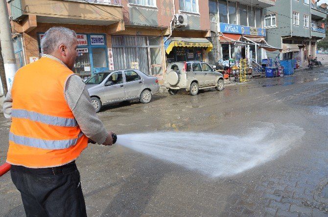Hanönü Belediyesinden Bahar Temizliği