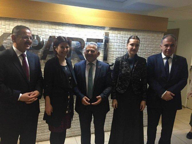 Melikgazi Belediye Projeleri Kardeş Belediyeler İzmir Toplantısında