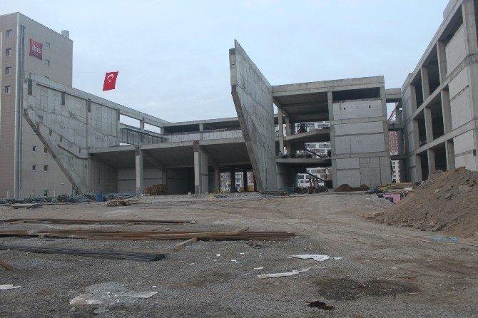 Kayseri Ticaret Odası Yeni Hizmet Binası İnşaatı Çalışmaları Sürüyor