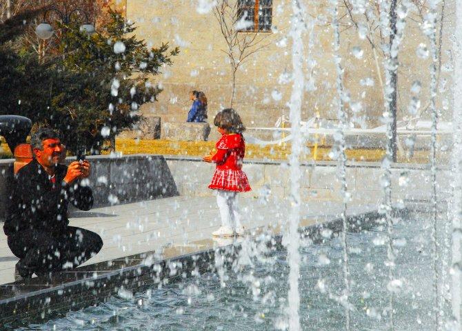 Kayseri'de son 56 yılın en sıcak şubatı: 28 derece