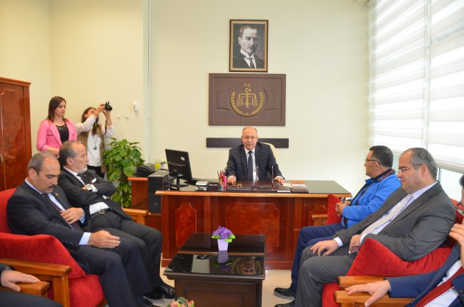 Mersin Adliyesinde medya iletişim bürosu açıldı