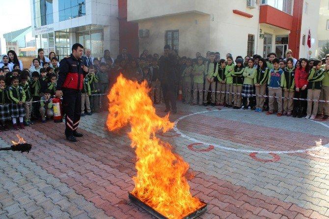 Çamlıca Okulları Deprem Ve Yangın Tatbikatı Yaptı
