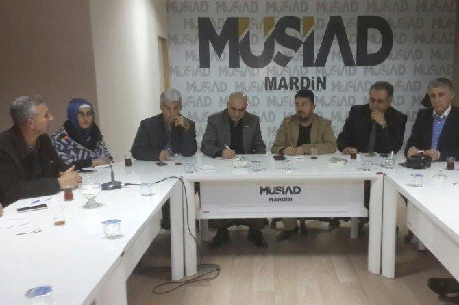Mardin'de 'Kardeşlik Ve Dayanışma Platformu' Kuruldu