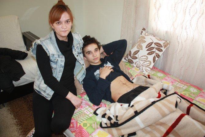 Gaspa uğrayan lise öğrencisi ölümden döndü