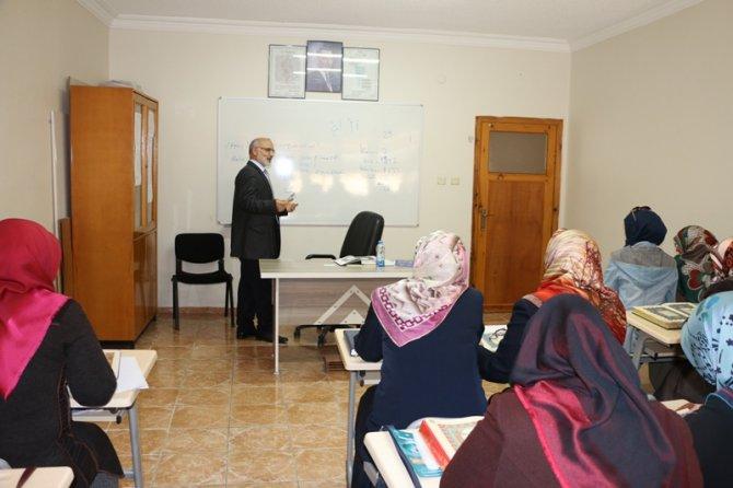 Kur'an kursu öğreticilerine hizmet içi eğitim verilecek