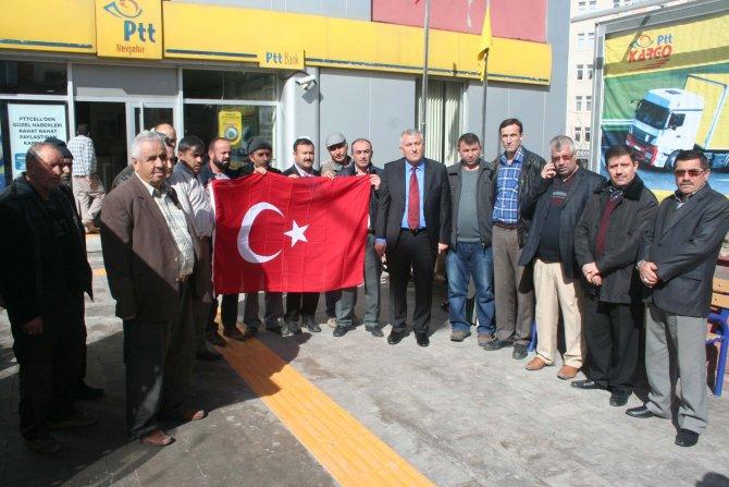 Şehit ve gazi ailelerinden Mehmetçiğe anlamlı hediye