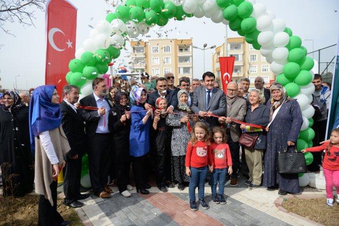 Yunuseli'de 3 park hizmete açıldı