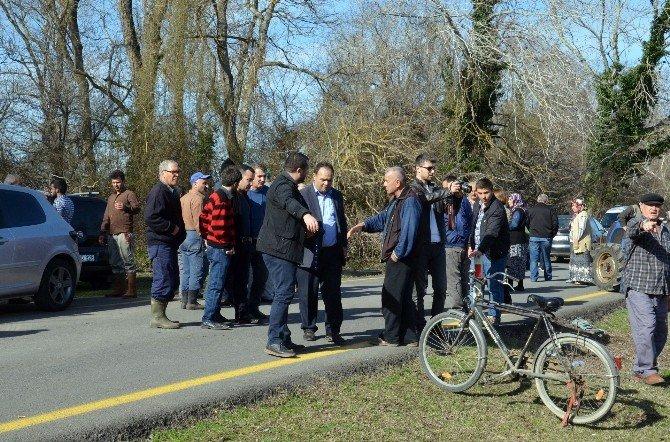 Yörükler Mahallesi Sakinleri Yolu Kapatarak Eylem Yaptı