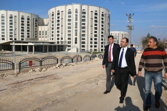 Yeni Hastane İçin Yeni Yol Yapılıyor