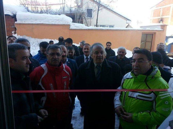 Sarıkamış'ta Fıtness Salonu Açıldı
