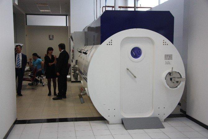 Seah'ta Hiperbarik Oksijen Tedavi Ünitesi Hizmete Açıldı