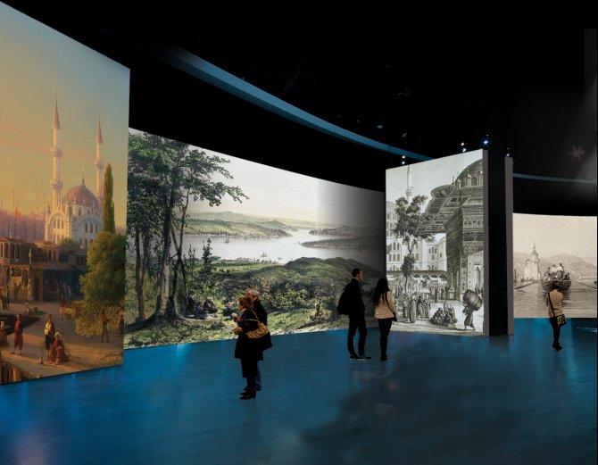 Seyyahların 200 yıllık İstanbul tabloları izleyici ile buluşuyor