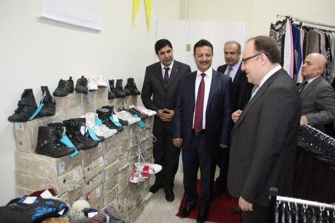 Siirt Üniversitesi'nde 'Sevgi Mağazası'nın Açılışı Yapıldı