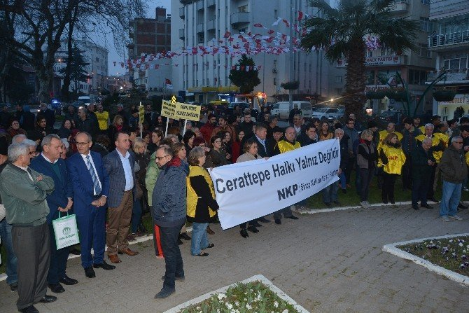 Sinop'ta Cerattepe Eylemi