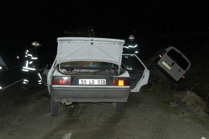 Tekirdağ'da Feci Kaza: 4 Yaralı