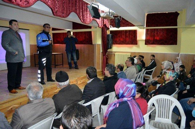 Vatandaşlar Hırsızlık Olaylarına Karşı Bilinçlendirildi