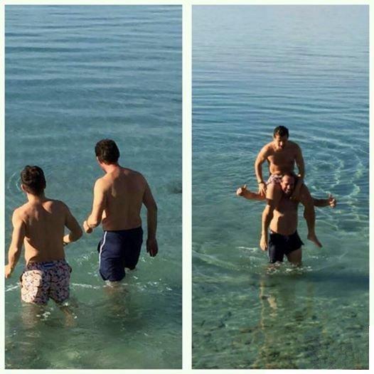 Emre Belözoğlu Deniz Sezonunu Açtı