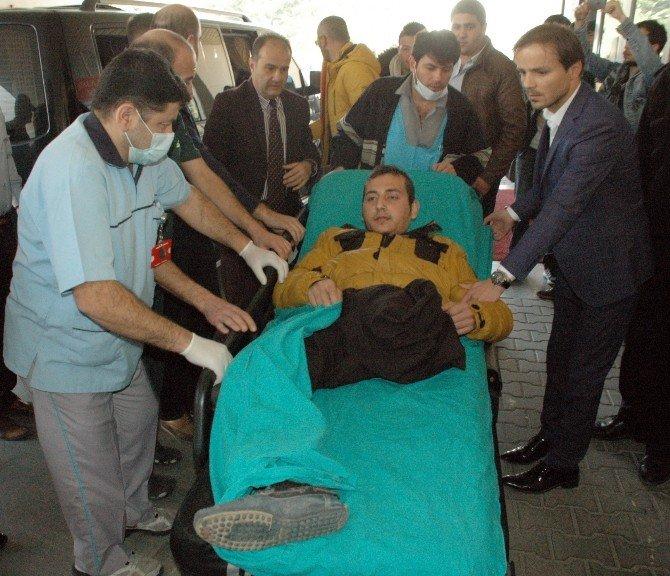 Suriye'de Yaralanan 4 Türkmen Bolu'ya Getirildi