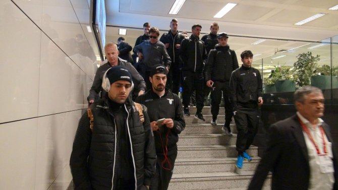 Galatasaray'ın rakibi Lazio İstanbul'da