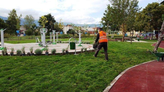 Parklar Bahara Hazırlanıyor