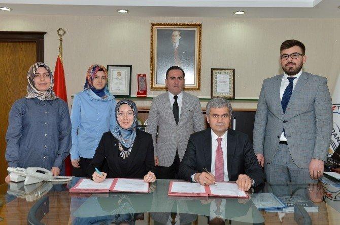 Milli Eğitim Müdürlüğü Ve Tügva Arasında Protokol İmzalandı
