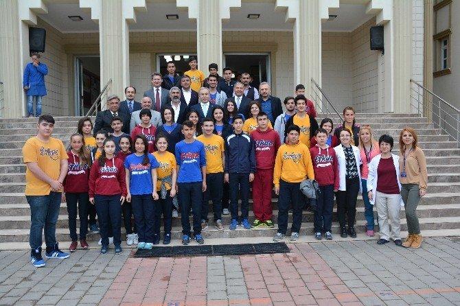Vali Büyük'ten, Özel Erkan Teknik Meslek Lisesi'ne Ziyaret