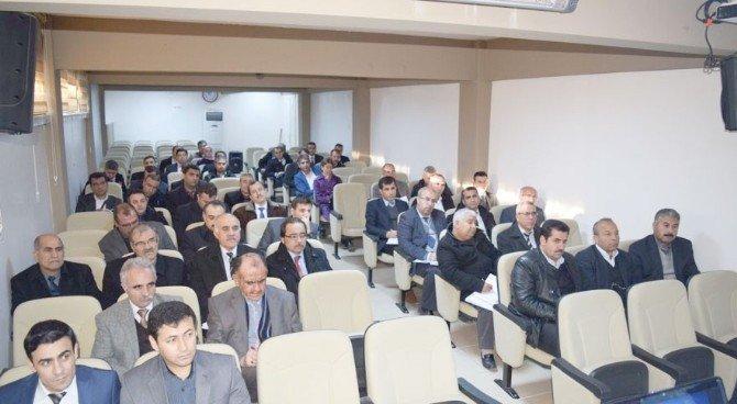 Besni'de Dönem Başı Okul Müdürleri Toplantısı Yapıldı