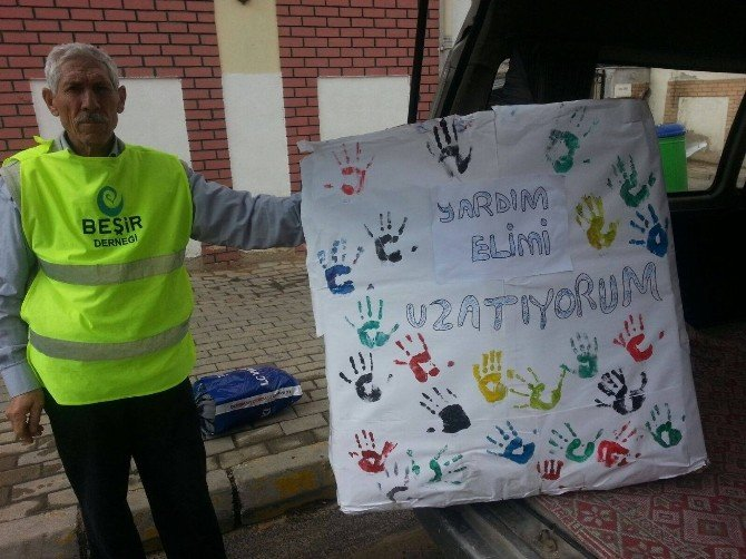 Minik Öğrencilerden Yardım Kampanyası