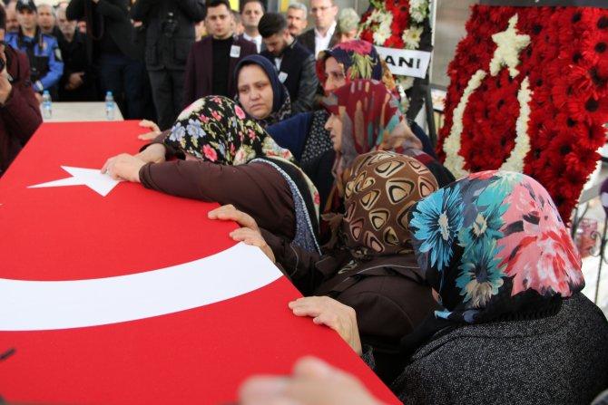 Ankara saldırısında şehit olan Akman, son yolculuğuna uğurlandı