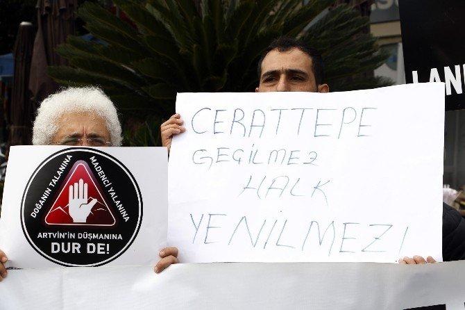 Antalya'da Cerrattepe Eylemi
