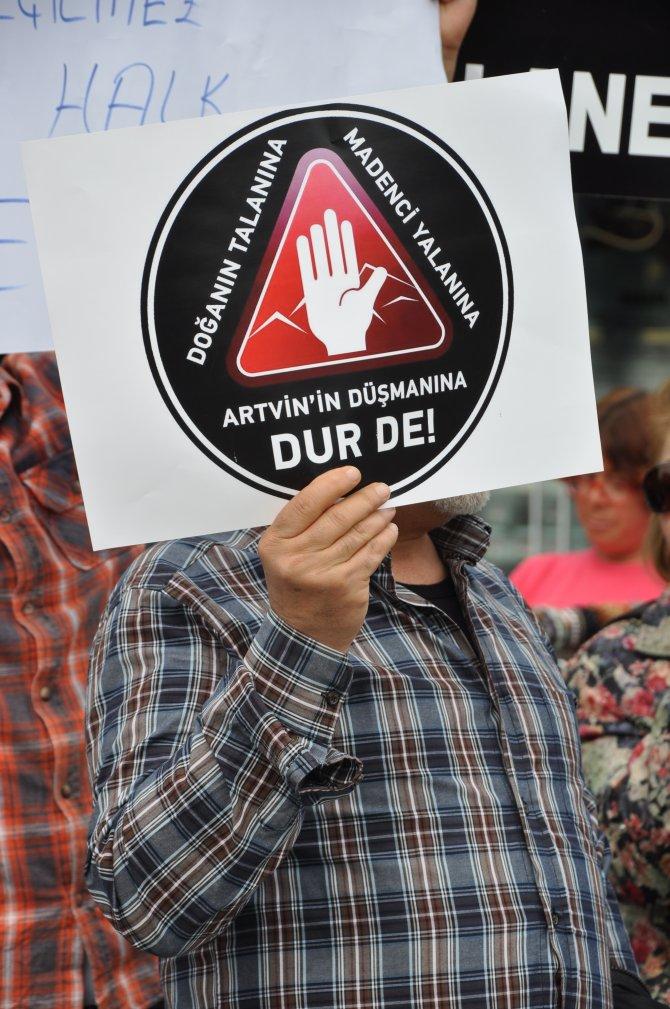 Antalyalı çevrecilerden Artvin'e destek