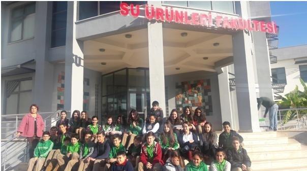 Barbaros Ortaokulu Yöneticileri Antalya'yı Tanıttı