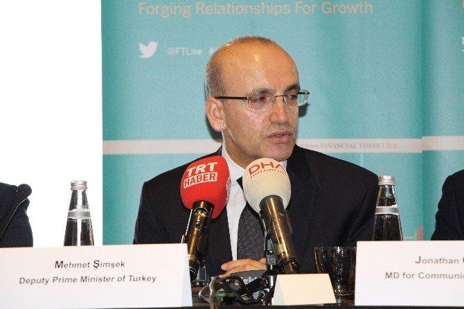 """Başbakan Yardımcısı Şimşek: """"Dostlarımızın Teröre Karşı Tavır Koymasını Bekliyoruz"""""""