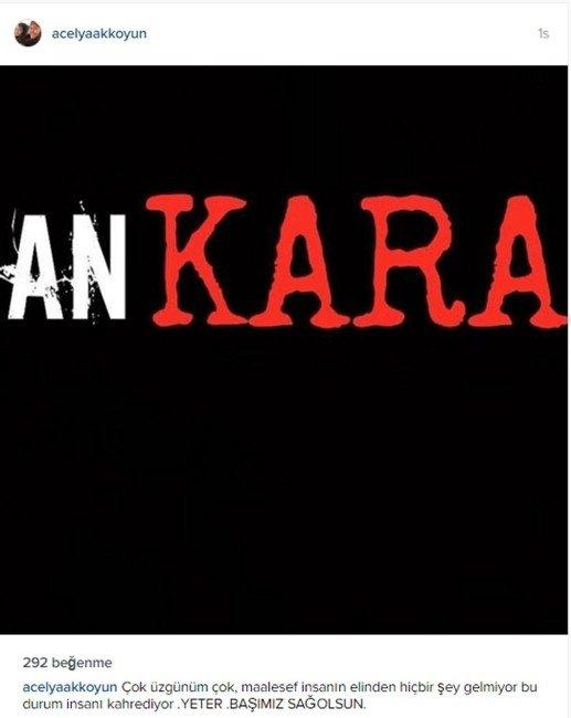 Ünlü İsimler Ankara'daki Patlama Sonrası Terörü Lanetledi