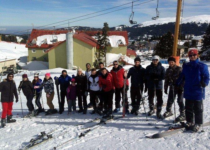 Besyo Öğrencileri Kış Kampını Uludağ'da Yaptı