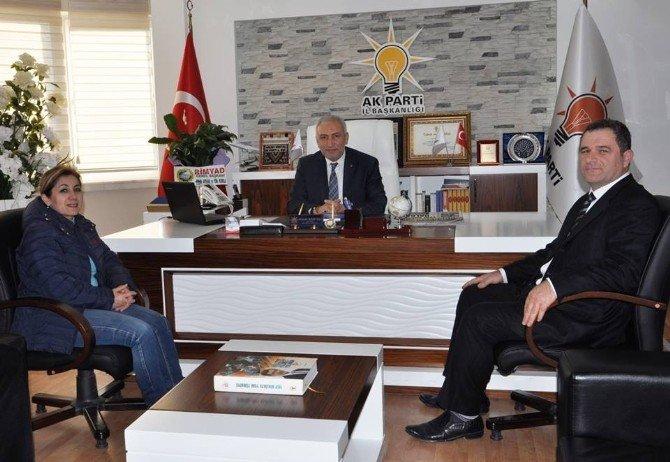 Bimyad Genel Merkezinden AK Parti'ye Ziyaret