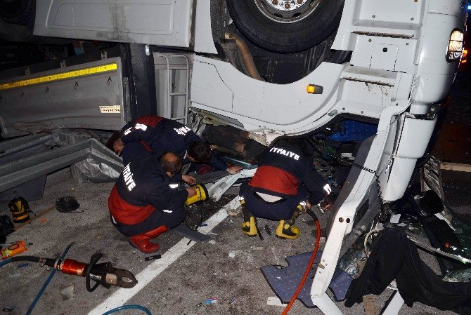 Çorum'da Trafik Kazası:1 Ölü