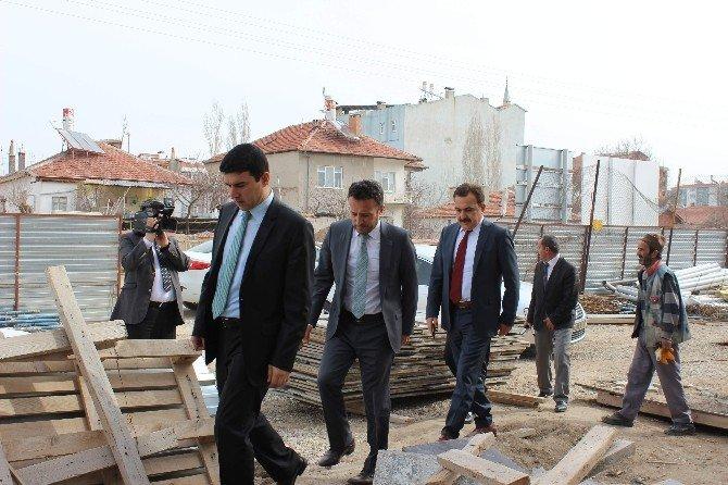 Çumra'da Yatırımlar Aralıksız Devam Ediyor
