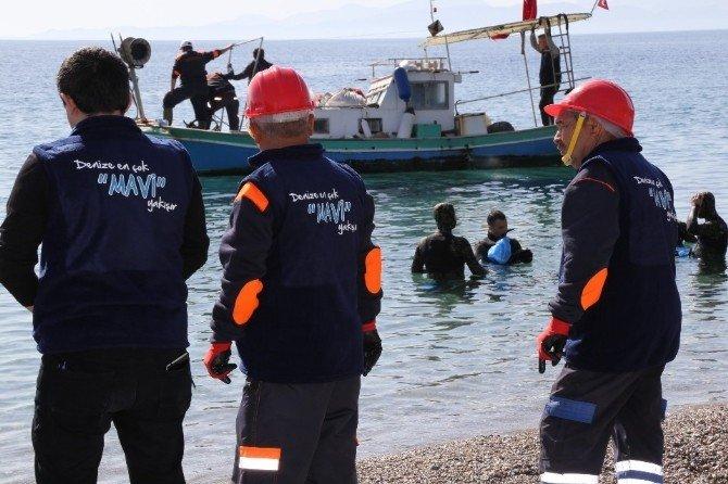 Bodrum'da Deniz Dibi Temizliğine Yoğun İlgi