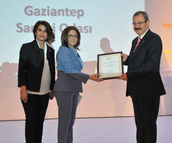 """GSO, """"Gaziantep'e Katma Değer Katan Marka"""" Seçildi"""