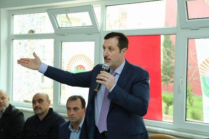 Başkan Tok HDP'ye Ateş Püskürttü