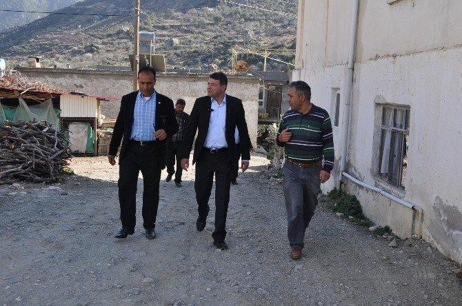"""Başkan Turgut: """"Mahallelerimizi Cazibe Merkezi Haline Getireceğiz"""""""