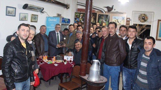 Başkan Bozkurt Avcıları Ziyaret Etti