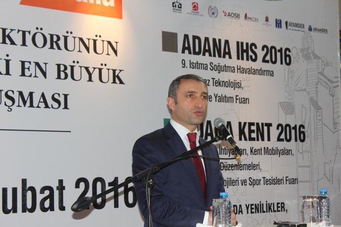 Adana İnşaat Fuarı buruk şekilde açıldı